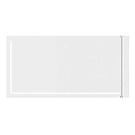 """Resealable Clear Face Document Envelopes 5"""" x 106"""" - 1000 Pack"""