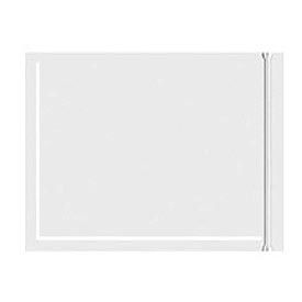 """Resealable Clear Face Document Envelopes 8"""" x 10"""" - 500 Pack"""