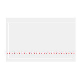 "10-3/4 x 7"" Clear Face Document Envelopes - 500/Pack"