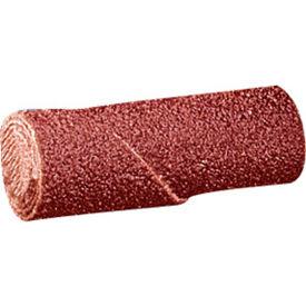 "United Abrasives - Sait 38055 Straight Cartridge Roll 3/8"" x 2"" x 1/8"" 60 Grit Aluminum Oxide - Pkg Qty 100"
