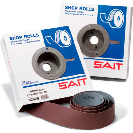 "United Abrasives - Sait 81807 DA-F Shop Roll 1-1/2"" x 10 Yds 180 Grit Handy Roll Aluminum Oxide"