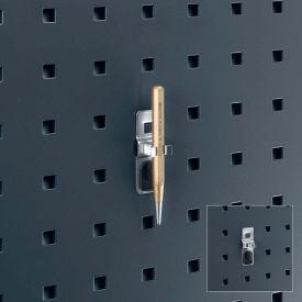 """Bott 14013061 Single Spring Clip For Perfo Panels, 3/8"""" Diameter, (Pack Of 5)"""