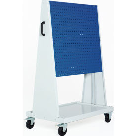 """39x18x63"""" Trolley 2 Perfo Panels each side by"""