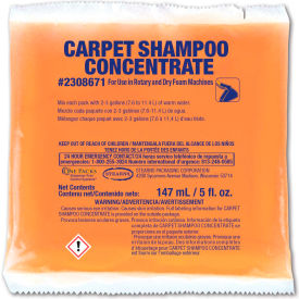 Stearns Carpet Shampoo Concentrate - 5 oz Packs, 36 Packs/Case - 2308671