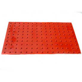 UltraTech, Ultra-ADA Pad, Safety Red, Retrofit, 0765, 2' x 2'