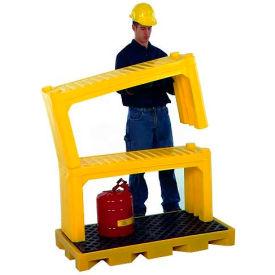 UltraTech Ultra-Stacking Shelf 2430, Yellow