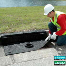 """Ultra-Inlet Guard Plus ®  Curb Style 24"""" X 24"""" W/Overflow Port"""