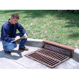 """Ultra-Drain Guard ®  Curb-Insert Style  Oil & Sediment Model For Curb Inlets 24"""" - 42"""""""