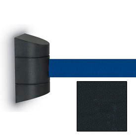 """Wall Mounted Tape Unit with 12'6"""" Black Tape"""