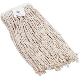 #16 Value Standard Cut-End Rayon Wet Mop Head, White 12/Pack UNS2016R by