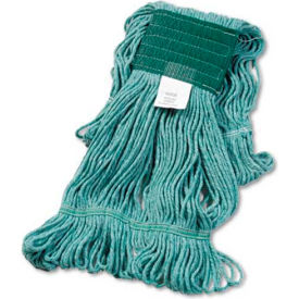 Medium Super Loop Cotton/Synthetic Mop Head, Green - BWK502GNEA