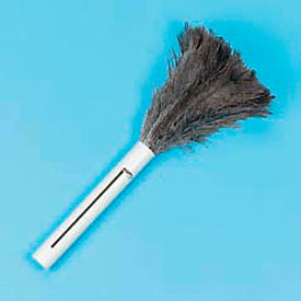 "9""-14"" Retractable Feather Duster W/ Black Plastic Handle - BWK914FD - Pkg Qty 12"