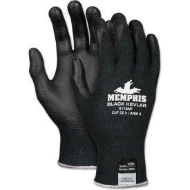 MCR Safety 9178NFXL Kevlar Gloves, 13-Gauge, Kevlar/Nitrile Foam, Black, X-Large, 1 Pair