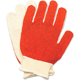 North® Smitty® 81/11162M Nitrile Palm Coated Gloves, White/Red12 Pairs