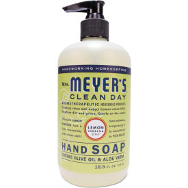 Mrs. Meyer's® Clean Day Liquid Hand Soap, Lemon, 12.5 oz. Pump 6/Carton - 651321