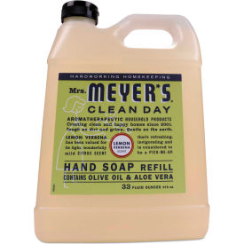 Mrs. Meyer's® Clean Day Liquid Hand Soap, Lemon, 33 oz. 6/Carton - 651327
