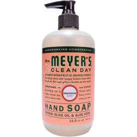 Mrs. Meyer's® Clean Day Liquid Hand Soap, Geranium, 12.5 oz. Pump 6/Carton - 651332