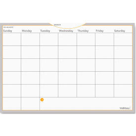 AT-A-GLANCE® WallMates Self-Adhesive Dry Erase Monthly Planning Surface, 36 x 24