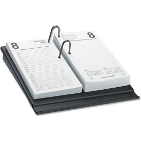 AT-A-GLANCE® Desk Calendar Refill, 3 1/2 x 6, White, 2019