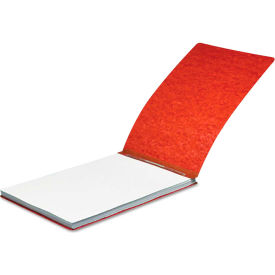 "Click here to buy ACCO Pressboard Report Cover, Spring Clip, Letter, 2"" Capacity, Earth Red."