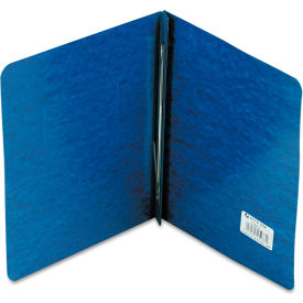 "Click here to buy ACCO Pressboard Report Cover, Prong Clip, Letter, 3"" Capacity, Dark Blue."