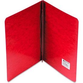 "Click here to buy ACCO Pressboard Report Cover, Prong Clip, Letter, 3"" Capacity, Executive Red."
