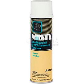 Misty® AEPA10120 Chalkboard & Whiteboard Cleaner, 20oz Aerosol Can - AEPA10120
