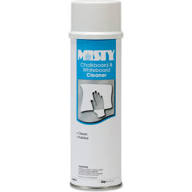 Misty Chalkboard & Whiteboard Cleaner , 19 oz. Aerosol Can, 12 Cans - 1001403