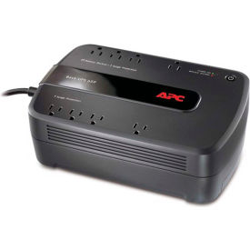 APC® APWBE650G1 Back-UPS ES 650 Battery Backup System, 650VA, 8 Outlets, 365 J