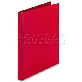 "Avery® Economy Round Ring Reference Binder, 1/2"" Capacity, Red"