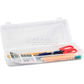 Innovative Storage Designs AVT-67033 Stretch Art Box, Polypropylene, Snap Shut, Clear