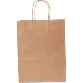 "Paper Shopping Bags 10"" x 13"" x 10"" Kraft- 250 Pack"