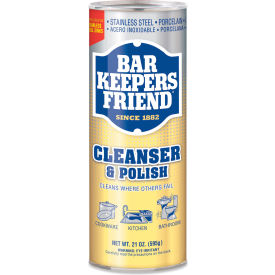 Bar Keepers Friend Powdered Cleanser & Polish, 21oz Can 1/Case BKF11514 by