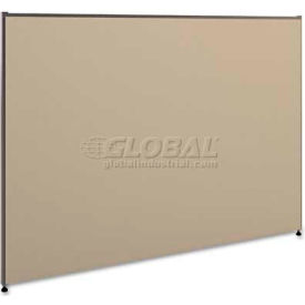basyx P4260GYGY Versé Office Panel, 60w x 42h, Gray