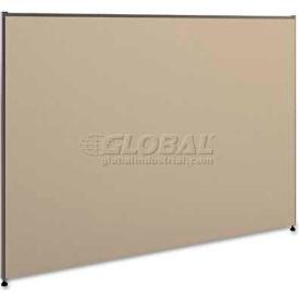 basyx P4260GYGY Versé Office Panel, 60w x 42h, Gray