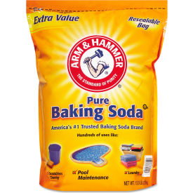 Arm & Hammer Baking Soda, 13-1/2 lbs. Box, 1/Case - 33200-01961