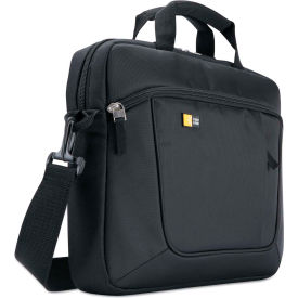 Case Logic® Laptop and Tablet Case for 14.1 Laptop and iPad Slim, Polyester, Black