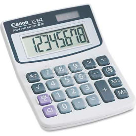 Canon LS82Z Minidesk Calculator, 8-Digit LCD by