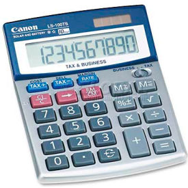 Canon LS100TS Portable Desktop Business Calculator, 10-Digit LCD by