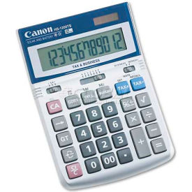 Canon HS1200TS Minidesk Calculator, 12-Digit LCD by