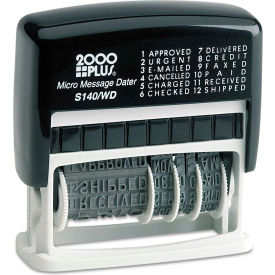 2000 PLUS® Micro Message Dater, Self-Inking
