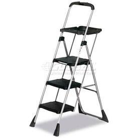 Cosco Max™ Steel Work Platform Ladder, 225Lb Capacity, Black - CSC11880PBLW1