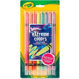 Crayola 529738 Twistable Crayons, 8 Neon Colors/Set