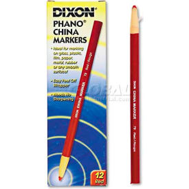 Dixon 79 China Marker, Red, Dozen by