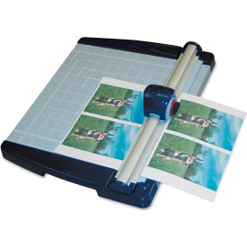 """X-ACTO® Rotary Paper Trimmer, 10 Sheets, Metal Base, 11"""" X 12"""""""