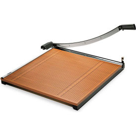 """X-ACTO® Wood Base Guillotine Trimmer, 20 Sheets, Wood Base, 24""""X24"""""""