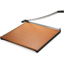 """X-ACTO® Wood Base Guillotine Trimmer, 20 Sheets, Wood Base, 30""""X30"""""""