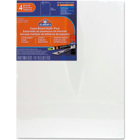 "Elmer's Pre-Cut White Foam Board Sheets, 11"" x 14"", 4/PK by"