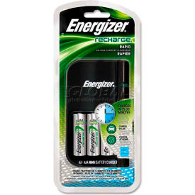 Hi-Energy Battery Charger with 4 AA NiMH Batteries