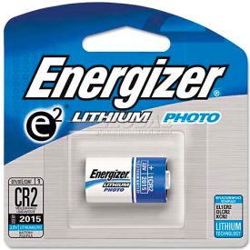Energizer e² Lithium Photo Battery CR2,3V, 1 per Pack
